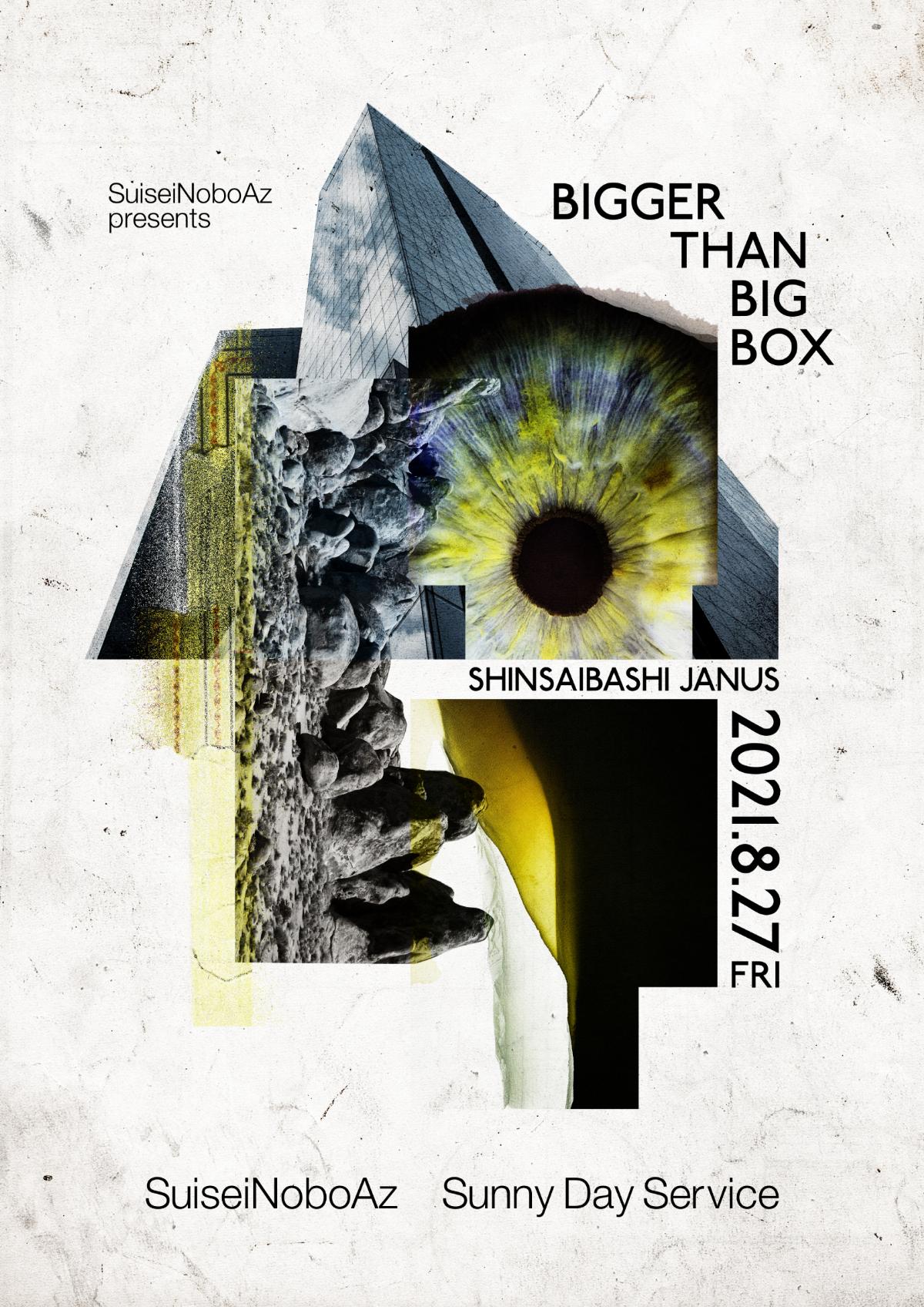 『BIGGER THAN BIG BOX』フライヤー