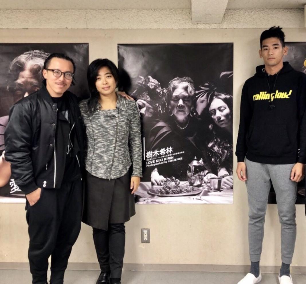 (左から)レスリー・キー、内田也哉子、UTA