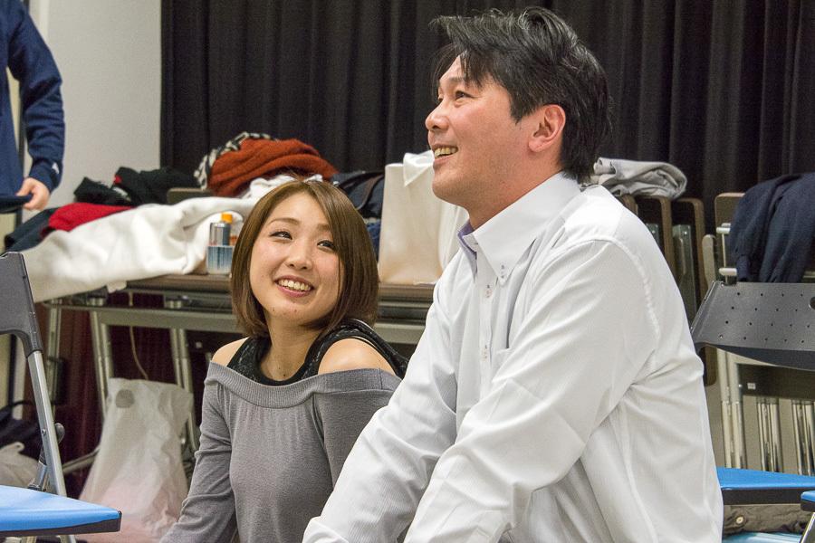 (左から)阿川祐未、小菅博之