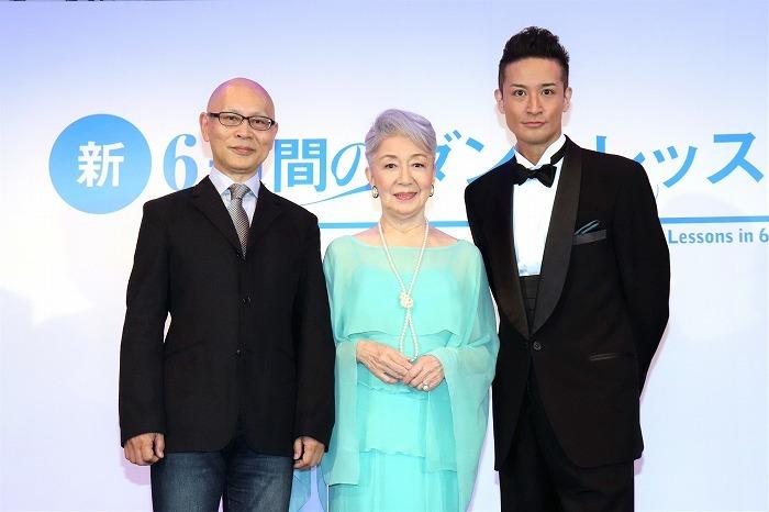 (左から)鈴木勝秀、草笛光子、松岡昌宏
