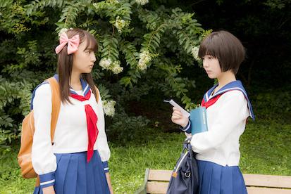 ドラマ『咲-Saki-』第一話より (C)小林 立/SQUARE ENIX・「咲」プロジェクト