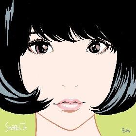 Shiggy Jr. 1stアルバムのジャケットが公開に イラストは江口寿史が描き下ろし