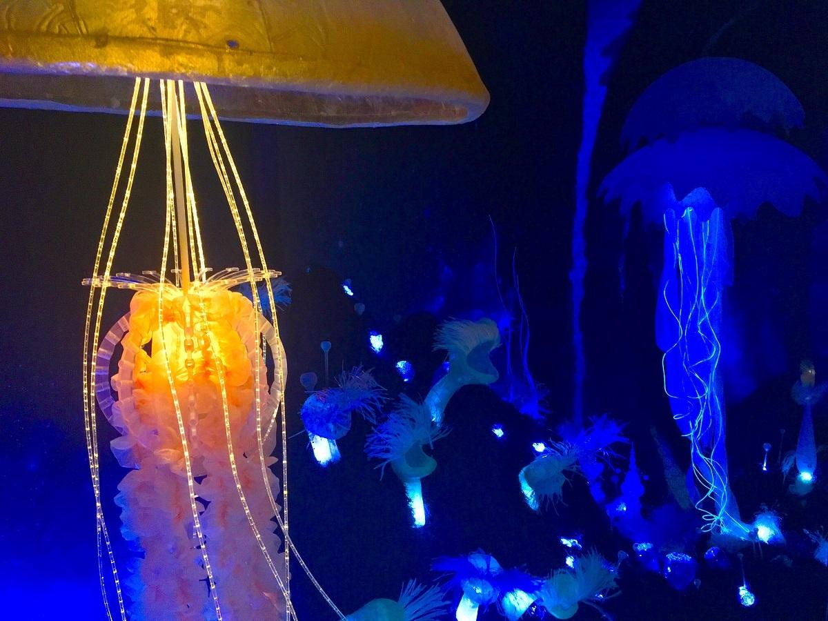 エウロパの深海に漂うクラゲ型の生命体
