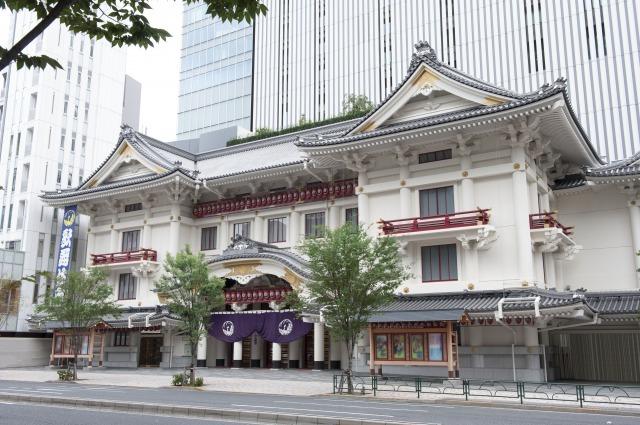 歌舞伎座外観