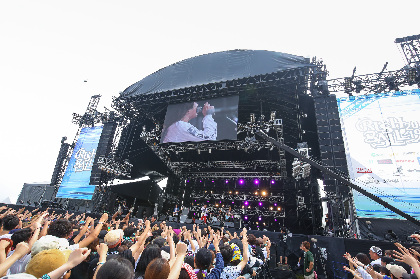 teto『RUSH BALL 2019』クイックレポート ーー自由に音を楽しむ、そんな当たり前の事を体当たりで伝えてくれた朝イチのライブ