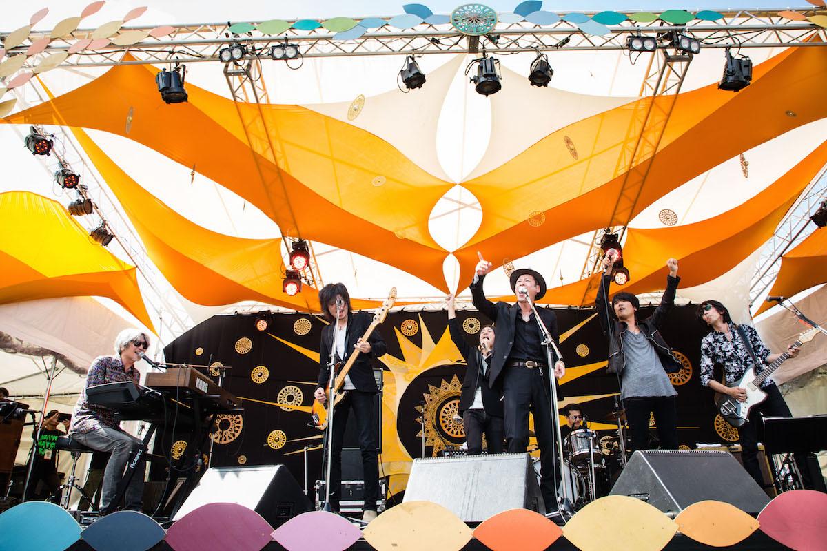 LIVE FOR NIPPON 武藤昭平withウエノコウジ presents SOLAR JAM 撮影=三浦麻旅子