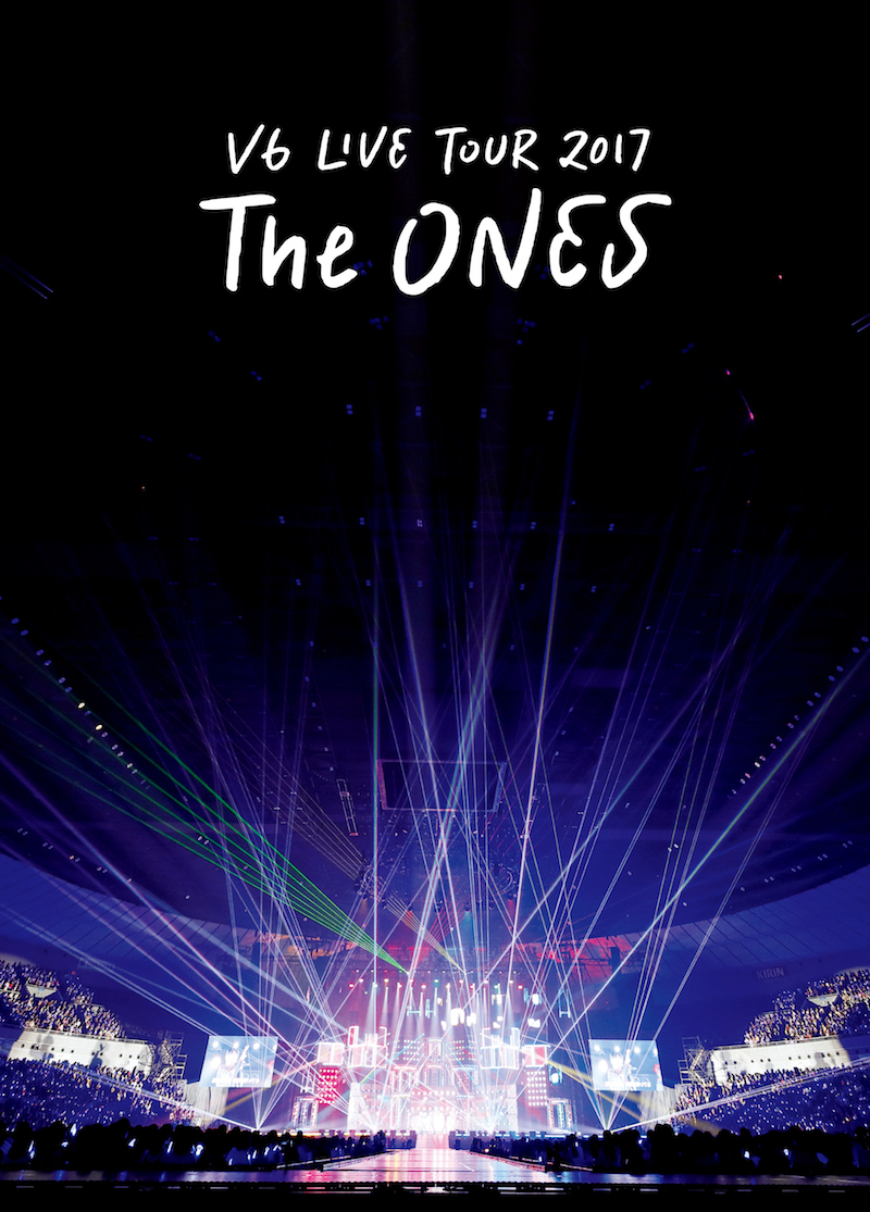 V6『LIVE TOUR 2017 The ONES』通常初回仕様