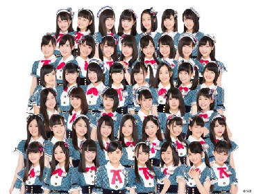 AKB48チーム8「アイドル横丁夏まつり」に初登場