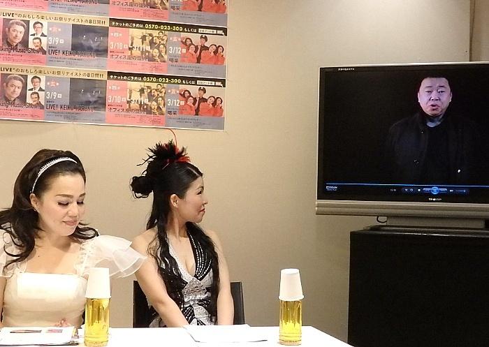 ビデオコメントで参加した『アニソン・ヴィランズ』作・演出・出演の伊藤えん魔