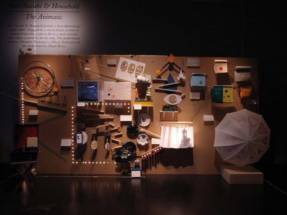 スズキユウリ《The Animatic》2009年 Commissioned by Design Miami / Fendi
