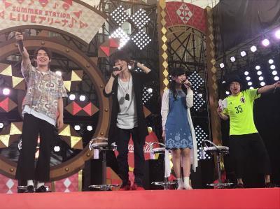 『テレビ朝日・六本木ヒルズ夏祭りSUMMER STATION』での様子
