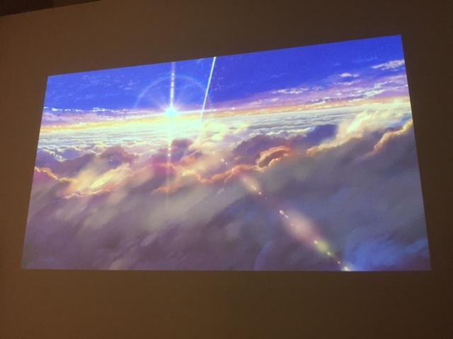 時空を超えて想いが届く、という神秘を美しい映像で描いた『君の名は。』のワンシーン