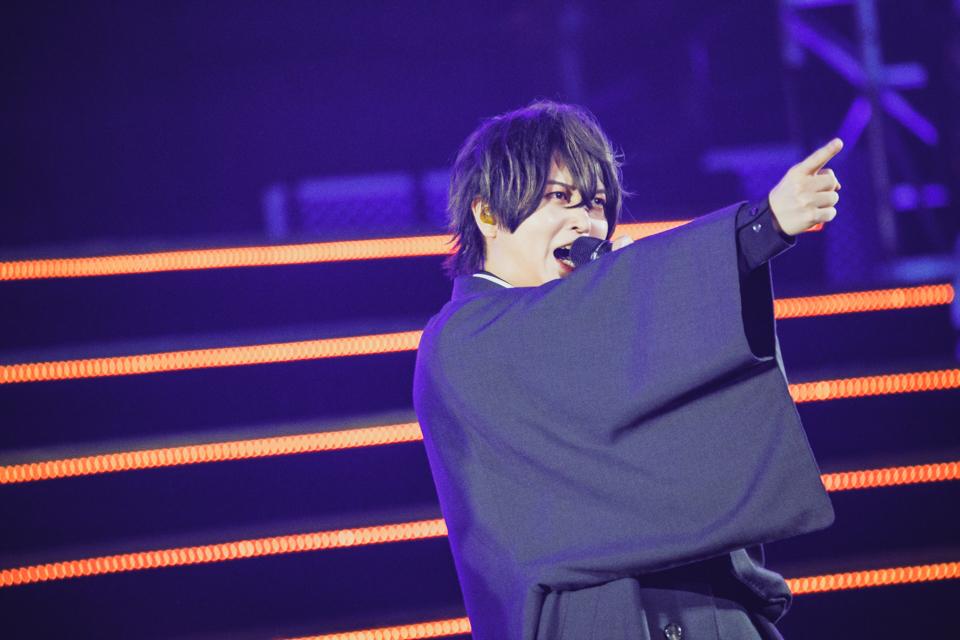 """斉藤壮馬(""""Fling Posse""""夢野幻太郎) (C) King Record Co., Ltd. All rights reserved.(C)AbemaTV,Inc."""