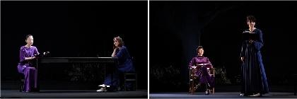 松雪泰子、ソニン、瀧内公美、片桐はいりが二人の女による愛憎劇を演じる『そして春になった』が開幕 コメント&舞台写真が到着