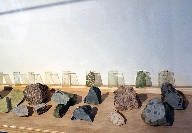 「芙二子の旅」より 《グリーンランドの氷河堆石》