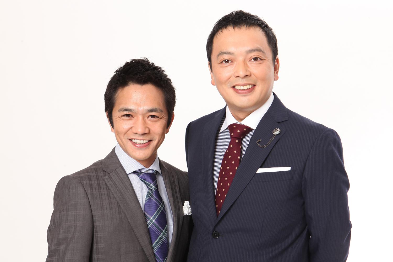 23日のジョージア戦(愛知・豊田スタジアム)に来場する中川家の2人