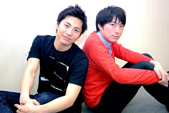 『柔道少年』(左から)宮崎秋人、中屋敷法仁