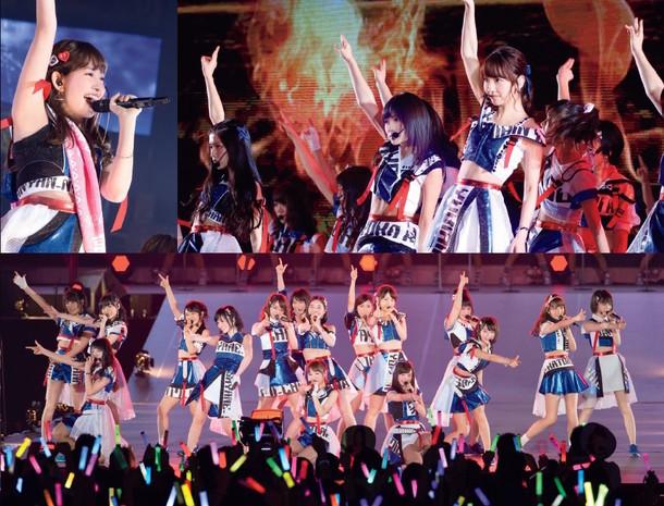 「2夜連続!!高橋みなみ前総監督 卒業直前AKB48グループライブSP」より。(c)AKS