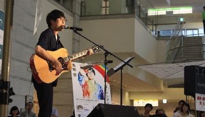 高橋 優、「虹」弾き語りで1,000人を熱くする JFN「高橋 優のリアラジ」の公開収録イベント