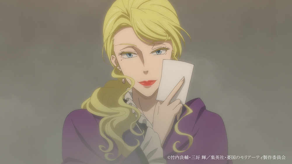 (c) 竹内良輔・三好 輝/集英社・憂国のモリアーティ製作委員会