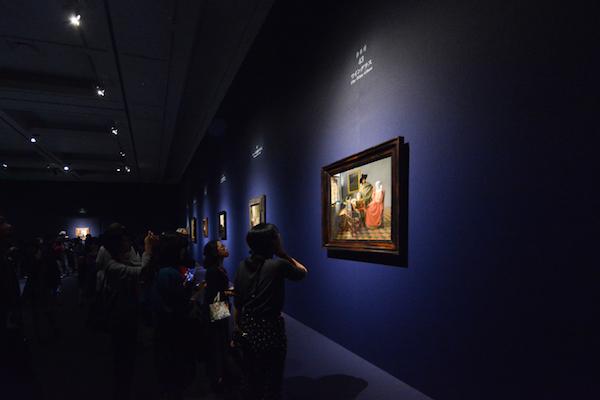 フェルメール・ルームの展示風景
