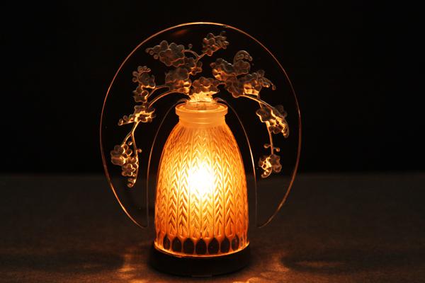 小型常夜灯《忘れな草》1919年