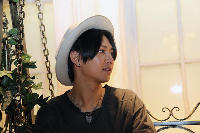 山田ジェームス武:緋影役 (撮影=こむらさき)