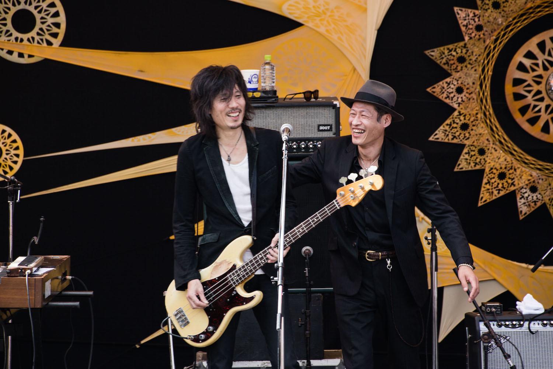 武藤昭平withウエノコウジ  撮影=三浦麻旅子