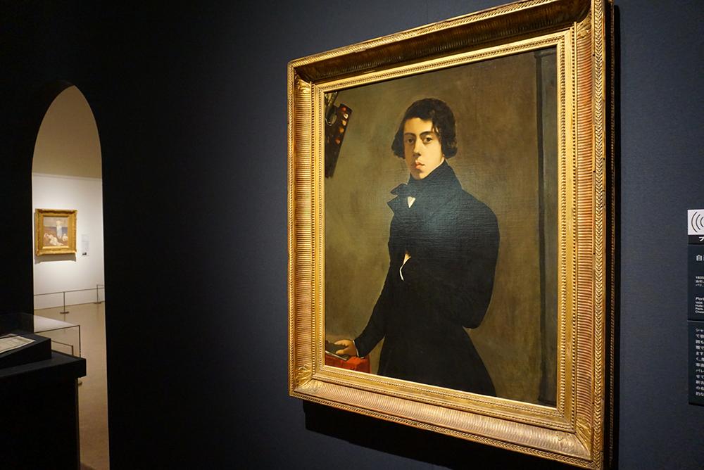テオドール・シャセリオー <自画像> 1835年 パリ、ルーヴル美術館