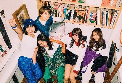 lyrical school キャリア初のEP「OK!!!!!」をリリース、斬新な手法を駆使した新曲のリモート・ライブも公開