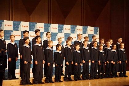 ウィーン少年合唱団 来日会見レポート