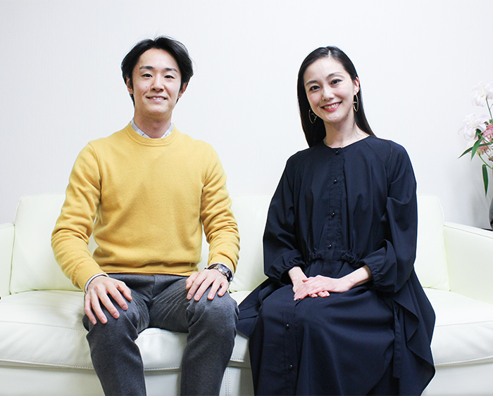 青山季可(右)、清瀧千晴