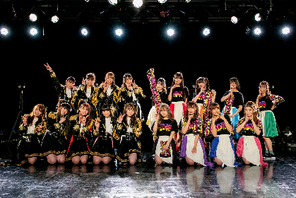 カミングフレーバー SUPER☆GiRLS出演、無観客生配信ツーマンライブの公式レポート到着