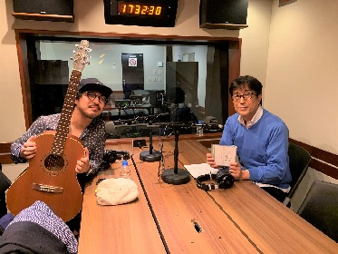 THE CHARM PARK、松任谷正隆のレギュラーラジオ番組で対談 スタジオ生演奏も