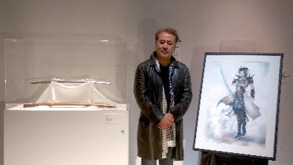 イラストレーター・天野喜孝が《流星刀》を擬人化! 森美術館『宇宙と芸術展』で制作エピソードを語る