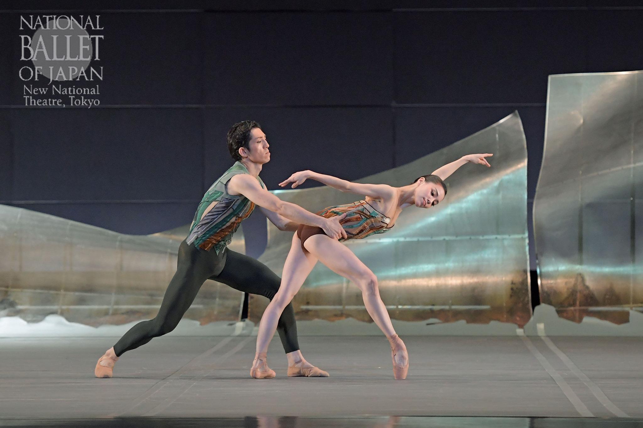 『DGV Danse à Grande Vitesse ©』小野絢子、木下嘉人(撮影:鹿摩隆司/写真提供:新国立劇場)