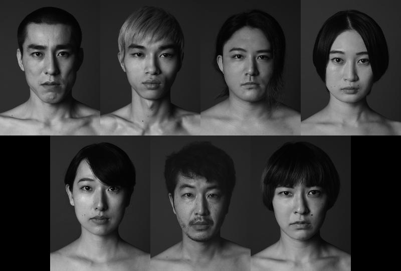(上段左から)高畑裕太、藤江琢磨、藤本稜太、福永朱梨(下段左から)とみやまあゆみ、芝博文、廣川真菜美