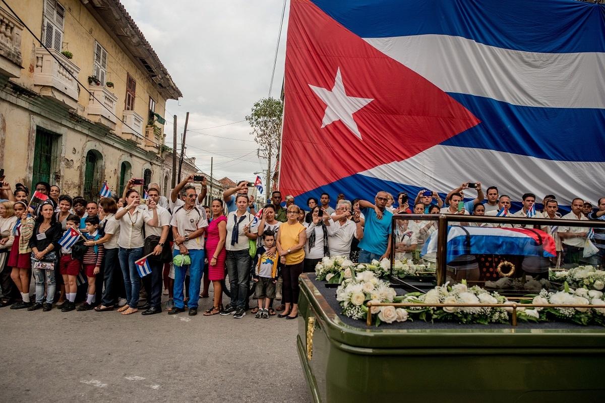 トマス・ムニタ (チリ、ニューヨークタイムズに提供) 2016年12月1日(サンタクララ、キューバ)