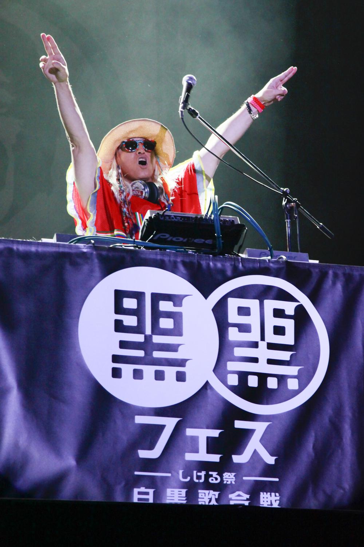 「黒フェス」DJ KOO