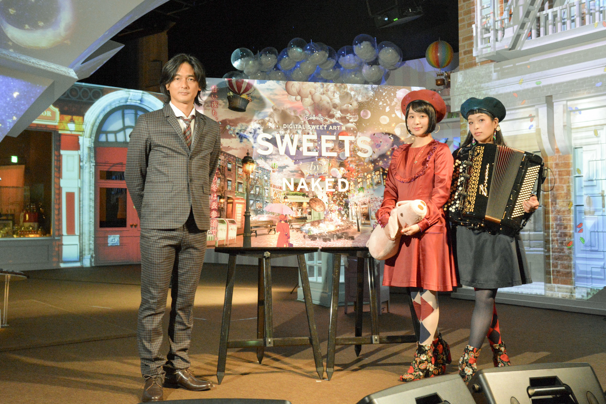『SWEETS by NAKED』プレス向け内覧会