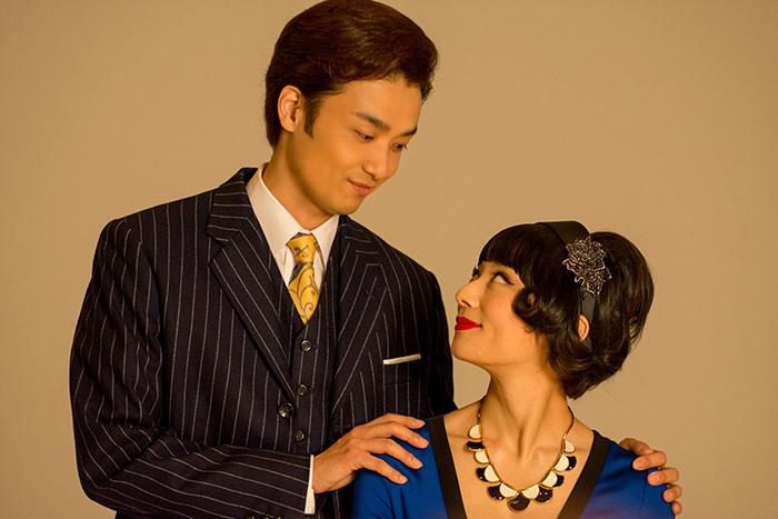 井上芳雄 小池栄子 (写真撮影:原地達浩)