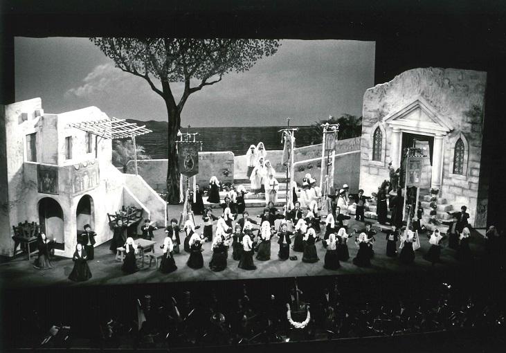 関西二期会公演「カヴァレリア・ルスティカーナ」(1982年6月 厚生年金会館大ホール)