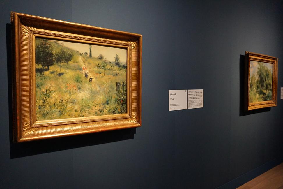 《草原の坂道》 1876-1877年、油彩/カンヴァス、オルセー美術館