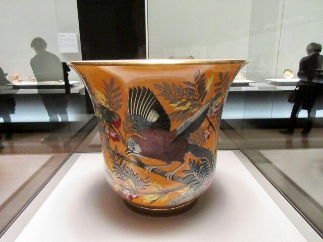 花瓶「花器AB」 1873年