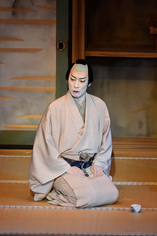 令和3年2月歌舞伎座『泥棒と若殿』松平成信=坂東巳之助 /(C)松竹