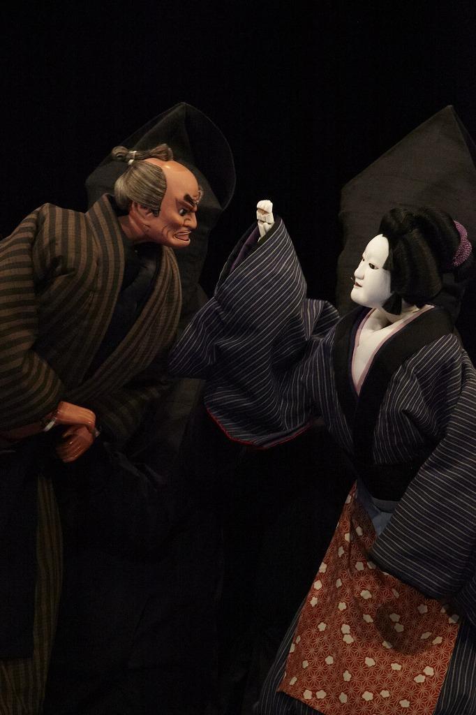 三谷文楽 『其礼成心中』舞台写真