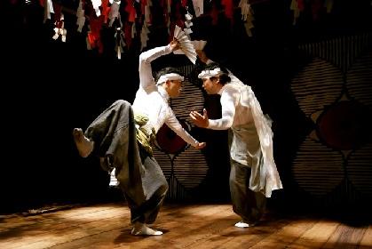 烏丸ストロークロックと祭『祝・祝日』広島限定公演。「人と人ならざるものとのあわいにある舞台」