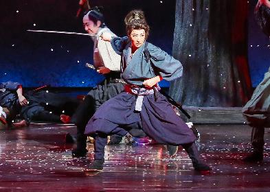 珠城りょう、美園さくらの宝塚歌劇月組新トップコンビ、『夢現無双 -吉川英治原作「宮本武蔵」より-』で大劇場初披露