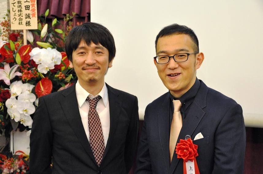 岩井秀人と上田誠 [撮影]吉永美和子