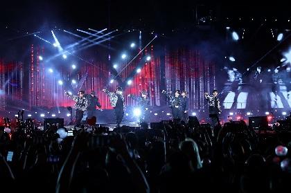 BTS スタジアムツアーがアメリカ・ローズボールスタジアムで開幕、2日間で12万人動員